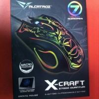 Mouse Gaming MorroLogic X-Craft Z7000 Plus MousePad Quantum Macro