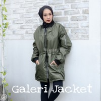 Hijacket Bomber Original HJ-BMB RAPTOR Jacket Wanita Muslimah Hijab