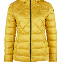 Jaket Padding S Oliver Sporty Quilted Cadmium Yellow: