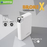Hippo Power Bank Bronz X 10000 MAH Original