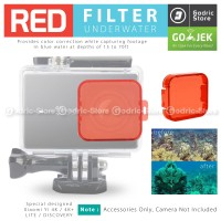 Underwater Diving Snorkeling Filter Xiaomi Yi 2 4K / PLUS / DISCOVERY