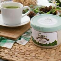 Terlaris Lulur Wajah Nature Organic GREEN TEA