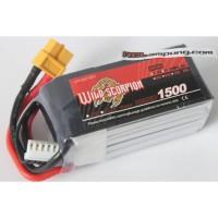 Wild Scorpion 1500mah 4s 14.8v 90c Lipo Battery