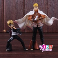 Naruto Boruto Figure Set 2pcs - Mainan Figur