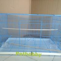 Kandang Besi Lipat Dayang Jumbo Untuk Kucing/Kelinci/Burung & Hewan LL