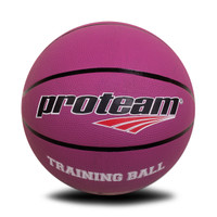 Proteam Basket Rubber Training Ball Purple 5 Kg