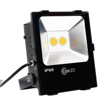 Lampu Sorot Flood Light LED 62.4w CooLED F3080 Warm White IP66 Outdoor