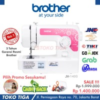 Mesin Jahit Brother JV 1400 / JV1400 / JA 1400 / JS 1410