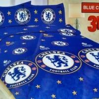 Sprei Bonita King Size 180 x 200 Motif Barca - Blue Chelsea