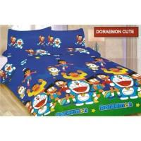 Sprei Bonita Size King 180 x200 Motif Doraemon Cute
