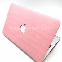 MacBook Case WOOD PINK
