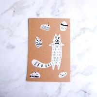 Mookie Standard Greeting Card