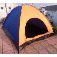 (Random) Tenda camping kapasitas luas 4 orang / tenda gunung camo dome