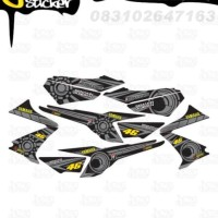 M52 Decal Sticker Vixion Striping Rossi Sun Moon decal motor stiker