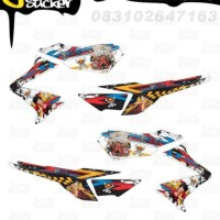 M51 Decal Sticker Vixion Striping One Piece decal motor stiker