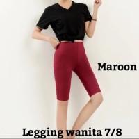 Beli 1 Gratis 1 Celana Legging Wanita 7/8