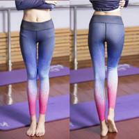 Celana sport Legging gym Fitness Olahraga wanita