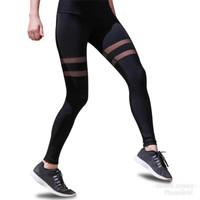 Celana sport transparan wanita / legging olahraga gym fitness senam