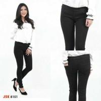 [SUPER BIG SIZE] Celana Legging Jeans Wanita Pinggang Karet JSK JEANS