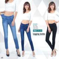 Celana Panjang Legging Jumbo Jeans Long Pants GIrl Wanita Women Denim