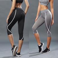 Celana Sport Legging Olahraga Gym Fitness Aerobik Senam Wanita K1810