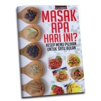 Buku Resep Makanan & Minuman Masak Apa Hari Ini? Resep Menu Pilihan