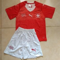 Jersey Swiss Home Kids World Cup 2018 Grade Ori Top Quality