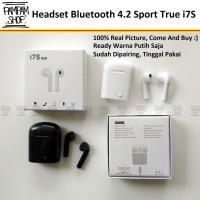 Headset Bluetooth i7S 4.2 Sport True Wireless Earphone Airpods HBQ