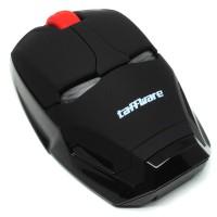 TaffWare Mouse Wireless Optical Iron Man 2.4Ghz - Black - JMNHA 296
