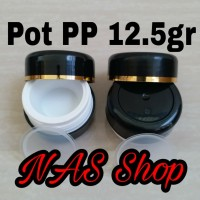 Pot PP 12.5 gr / Pot Cream 12.5 gr / Pot Cream / Tempat Cream