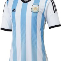 Jersey Argentina MAN Home World Cup 2014 GO