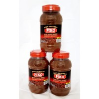 Kopi bubuk robusta semendo kemasan toples plastik 750 gr kopi Piko