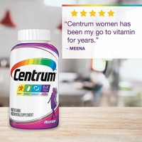Centrum Women Multivitamin Multimineral 200 Tablet, Vitamin D3