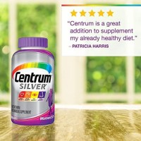 Centrum Silver Women Multivitamin Multimineral Vitamin D3, Age 50+ 200