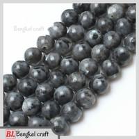 Bahan craft batu agate labradorite 8mm