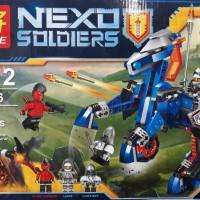 Mainan Lego Nexo Soldier Lele 79236 ( kuda army iron joker lance car