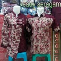 Baju Batik Couple Kemeja Batik Kemeja Couple Sepasang