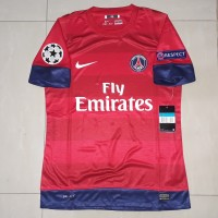 JERSEY PSG AWAY 12/13 FULLPATCH UCL