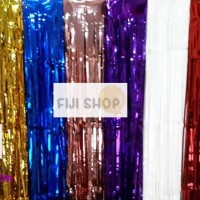 Tirai Foil / Curtain Foil / Backdrop Foil