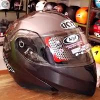 Helm KYT RRX GunMetal Modular Flip Up