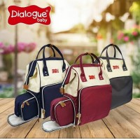 diapers bag Tas Ransel Moms Bag Dialogue baby Backpack