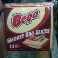 BEGA SMOKEY BBQ SLICES / KEJU BEGA SLICES SMOKEY BBQ 12SHEETS (LEMBAR)