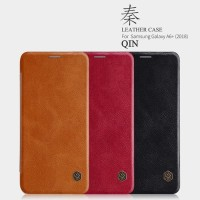 Samsung Galaxy A6 PLUS 2018 Flip Case - Nilkin Qin Leather Case Series