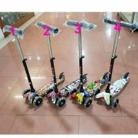 21st Kickboard Scooter MOTIF - Skuter Anak / Otoped Anak Roda 3