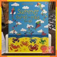 Usborne activities summer things to make and do - activity book
