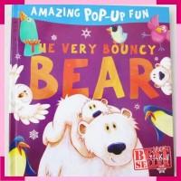 Amazing pop up fun the very bouncy bear - buku import anak