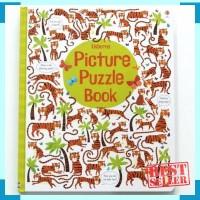 Usborne picture puzzle book - buku import anak