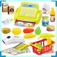 Mainan kasir anak - cash register toys - mainan edukasi pretend anak