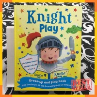 Knight play dress up and play book - activity book by igloobooks