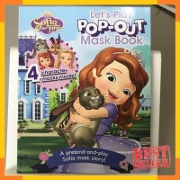 Disney Junior Sofia The First Let's Play Pop-Out Mask Book
